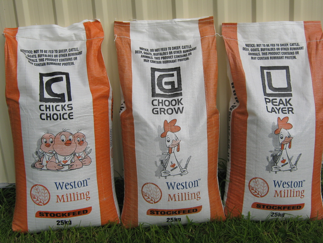 Weston Milling Poultry Feed